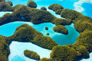 Beautiful,View,Of,70,Islands,In,Palau,From,Above